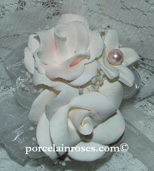 Roses and Stephanotis Corsage