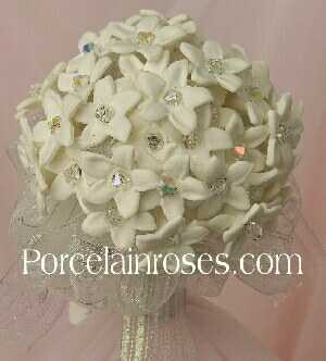 Stephanotis flower bouquet
