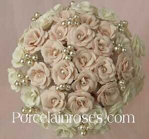 sweetheart rose bridal bouquet