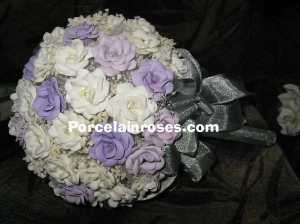 Wedding Bouquet in shades of Purple
