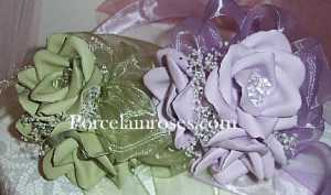 Small Rose Bridesmaids Bouquets