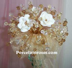 Crystal & Pearls Bouquet