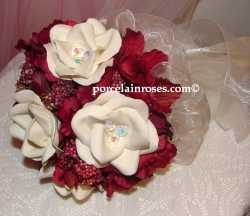 Silke Embellished Wedding Bouquet