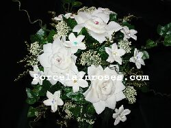 Gardenia wedding bouquet #54