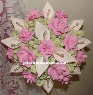 Ivory Mixed Flower Bouquet