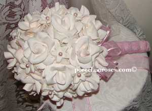 Wedding Bouquet in Bridal White