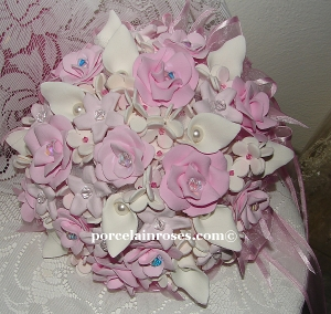 Wedding flowers in Pink